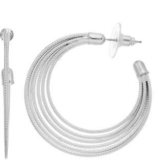 Multi-wire Hoop Earring