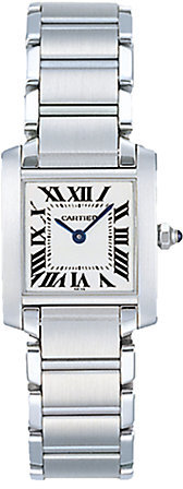Cartier Tank Francaise Stainless Steel Small Bracelet Watch