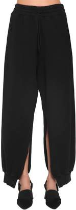 MM6 MAISON MARGIELA Cotton Sweatpants W/ Side Slits
