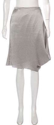 Giorgio Armani Silk Polka Dot Skirt w/ Tags
