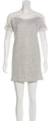 Pam & Gela Lace Sweater Dress