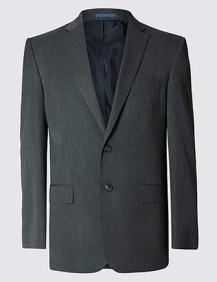 Marks and Spencer Big & Tall Grey Regular Fit Jacket