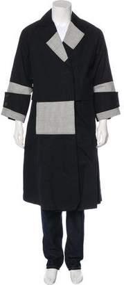Tome Long Notch-Lapel Coat