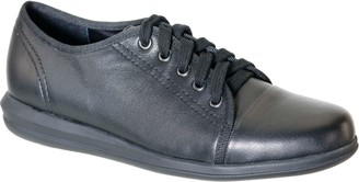 David Tate Leather Lace-up Sneakers - Siren