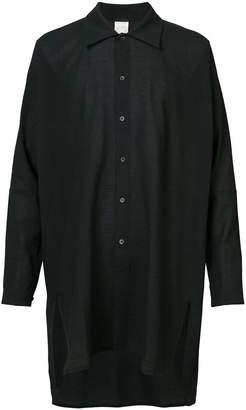 Jan Jan Van Essche elongated loose fitted shirt
