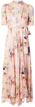Jill Stuart floral plunge dress