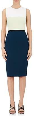 Narciso Rodriguez Women's Colorblocked Crepe Sheath Dress