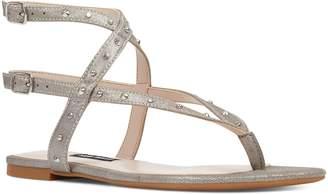 Nine West Simcha Studded Wraparound Sandal