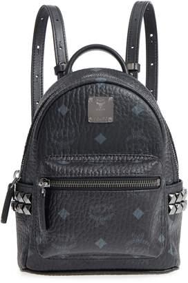 MCM 'X-Mini Stark Side Stud' Convertible Backpack