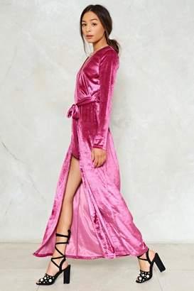 Nasty Gal Magic Touch Velvet Dress