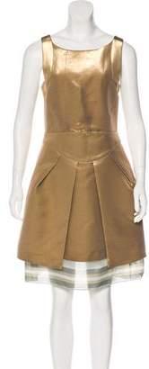 Emporio Armani Sleeveless Knee-Length Dress w/ Tags