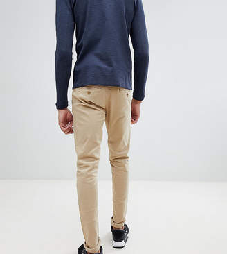 BEIGE Blend Tall slim fit chino in