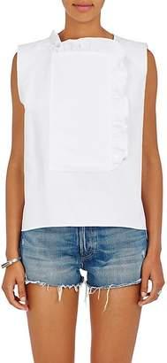 Atlantique Ascoli Women's Cotton-Linen Bib-Overlay Top