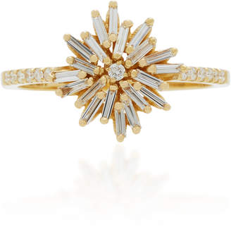 Suzanne Kalan 18K Gold Diamond Ring