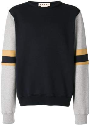 Marni contrasting panel sweater
