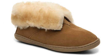 Minnetonka Suede Bootie Slipper - Women's