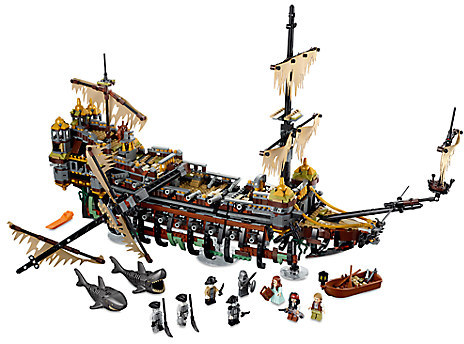 DisneySilent Mary Playset by LEGO - Pirates of the Caribbean: Dead Men Tell No Tales