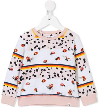 Molo ladybug print sweatshirt