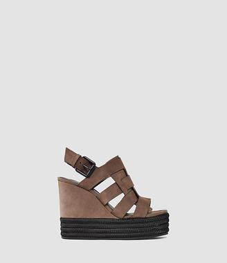 AllSaints Marzee Wedge Sandal