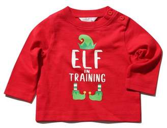 M&Co Elf in training Christmas t-shirt