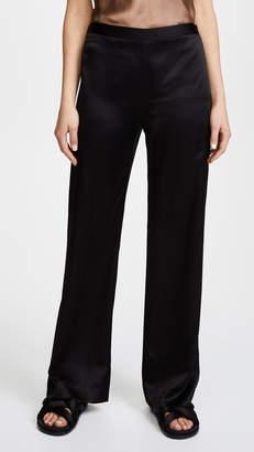 Jenni Kayne Satin Wide Leg Pants