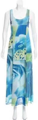 Kenzo Silk Maxi Dress
