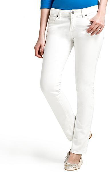 Paige Denim Skyline Peg-Leg Ankle Jean, White Destruction Wash