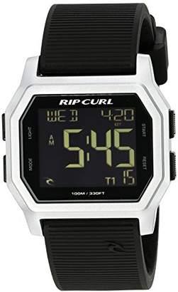 Rip Curl Men's 'Atom Digital' Quartz Plastic and Silicone Sport Watch