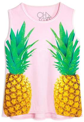 Chaser Youth Girl's Pineapple Tank