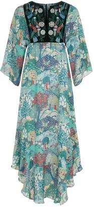 Vilshenko Melita Printed Dress