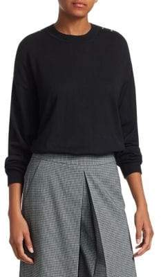 Alexander Wang Wool& Silk Pullover Sweater