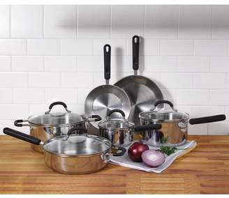 Oneida 10 Piece Stainless Steel Cookware Set