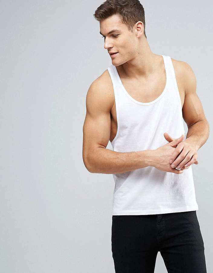 Asos Tank With Extreme Racer Back