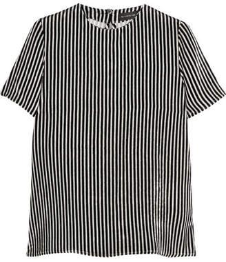 Etro - Striped Velvet Top - Black $640 thestylecure.com