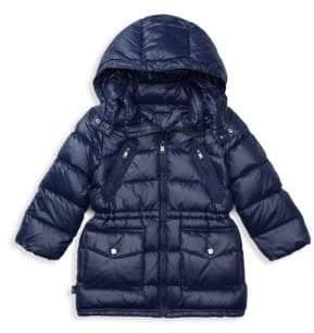 Ralph Lauren Little Girl's Quilted Down Coat