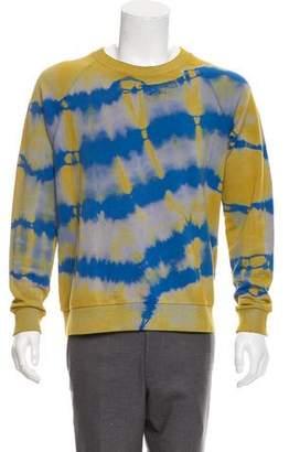 Saint Laurent 2016 Tie Dye Sweatshirt