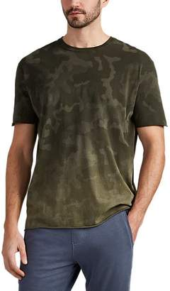 ATM Anthony Thomas Melillo MEN'S OMBRÉ CAMOUFLAGE COTTON T-SHIRT SIZE L/XL