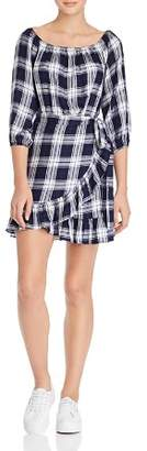 Aqua Ruffled Plaid Dress - 100% Exclusive