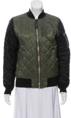 Alpha Industries Quilted Bomber Jacket