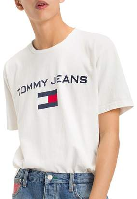 Tommy Jeans Tommy Hilfiger TJM '90s Logo Crewneck Tee