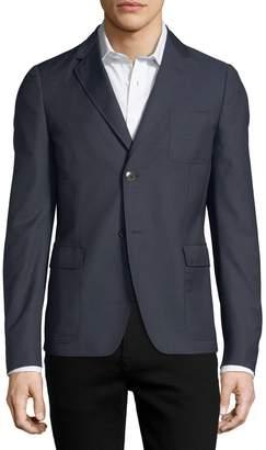 Gucci Soft Pin-Dot Sport Coat