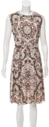 Christian Dior Sleeveless Printed Dress