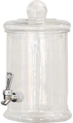 Symple Stuff 5 Liter Glass Beverage Dispenser