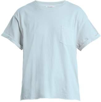 Frame Crew-neck patch-pocket cotton-jersey T-shirt