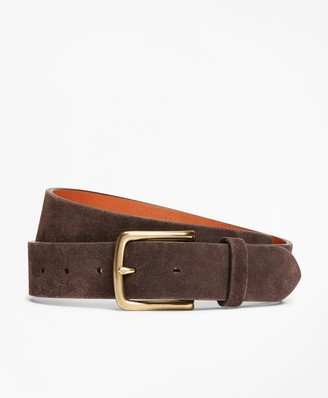 Brooks Brothers Suede Leather Belt