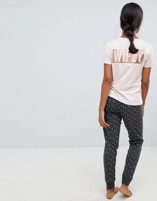New Look Wifey Pyjama Set