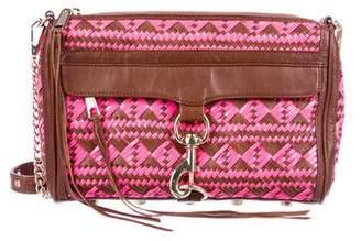 Rebecca Minkoff Woven Leather M.A.C. Crossbody Bag