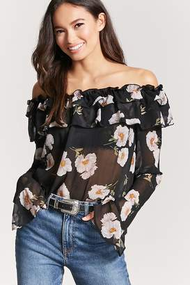 e2645ae236b762 Forever 21 Black Off Shoulder Tops For Women - ShopStyle Canada
