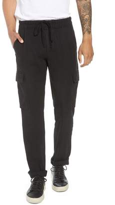 Vince Stretch Linen & Cotton Cargo Pants