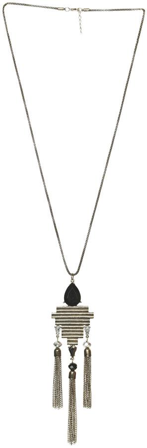 Arden B Art Deco Pendant Necklace